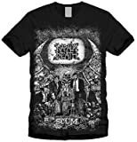 Napalm Death T-shirt - Scum Full Body Vintage Print