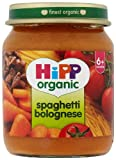 Hipp Organic Spaghetti Bolognese Stage 1 6+ months 125 g (Pack of 2, Total 12 Jars)