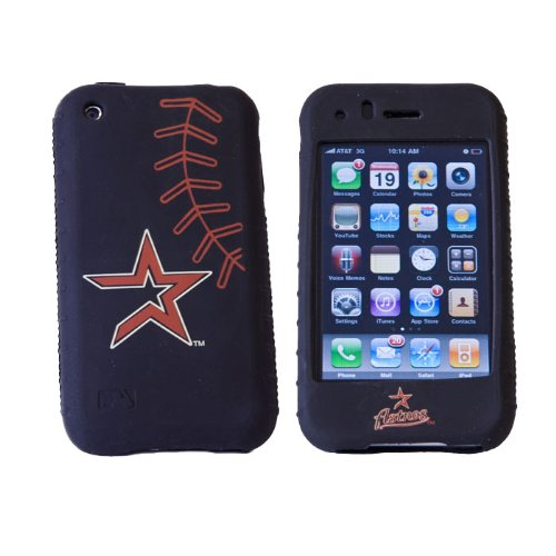 MLB Houston Astros Cashmere Silicone Iphone Case