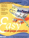 img - for Easy Web Page Creation (Cpg- Other) by Millhollon, Mary (2001) Paperback book / textbook / text book