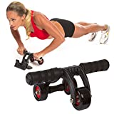 AB WOW Dragon Ab Roller, 3 Wheel Abdominal Exercise Workout Machine