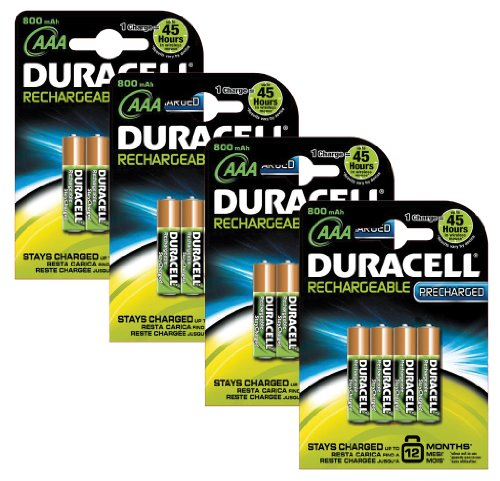 piles rechargeables duracell aaa pre charged pile rechargeable pack de 16. Black Bedroom Furniture Sets. Home Design Ideas