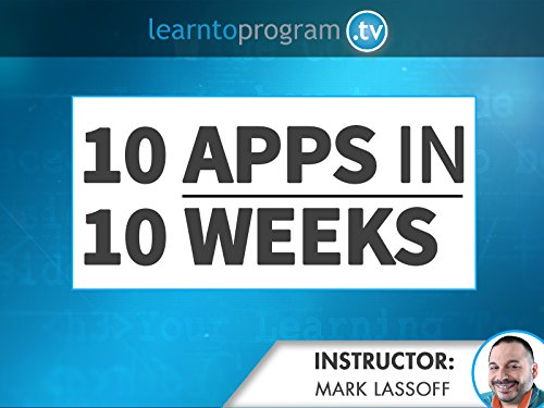 10 Apps in 10 Weeks