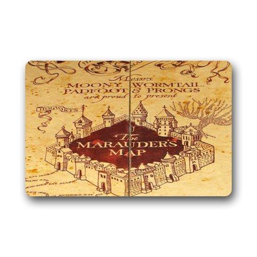 skoyi Harry Potter Mappa personalizzata durevole per interni/esterni Zerbino (58,4x 39,9cm)