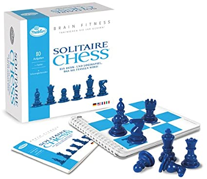 Thinkfun - 11194 - Jeu de logique  - Brain Fitness - Solitaire Chess