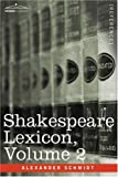 img - for Shakespeare Lexicon, Vol. 2 book / textbook / text book