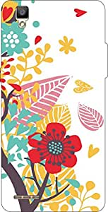 Go Hooked Designer Soft Back cover for OPPO F1 + Free Mobile Stand (Assorted Design)