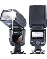 Neewer® NW580/VK750 Speedlite Flash avec LCD Ecran pour Canon Nikon Panasonic Olympus Pentax et les Autres Reflex Numérique, Tel que Canon EOS 5D Mark III , 5D Mark II, 1Ds Mark 6D, 5D, 7D, 60D, 50D, 40D, 30D, 300D, 100D, 350D, 400D, 450D, 500D, 550D, 600D, 650D, 700D, 1000D, 1100D/EOS Digital Rebel; Nikon D4S D4 D3S D800 D700 D80 D90 D7000 D7100 D50 D40X D60 D5000 D5100 D5200 D5300 D40 D3000 D3100 D3200 D3300
