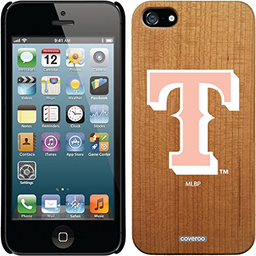 Coveroo iPhone 5/5S Madera Wood Thinshield Case with Texas Rangers White With Pink Design promo code 2016
