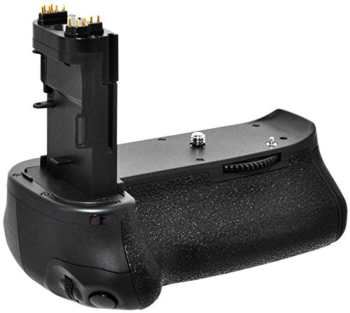 Professional Series Ultimate Multi-Power Battery Grip For Canon Eos 70D Dslr Camera With Cartridge Plates For 2 Lp-E6 Lithium-Ion And Aa Batteries Batteries