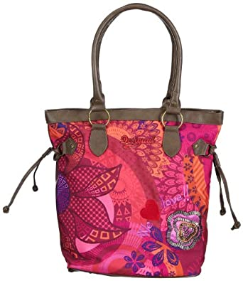 Desigual Women Bols_American Viven Love 2 Hobos & Shoulder Bags Purple 37X50373078U One Size