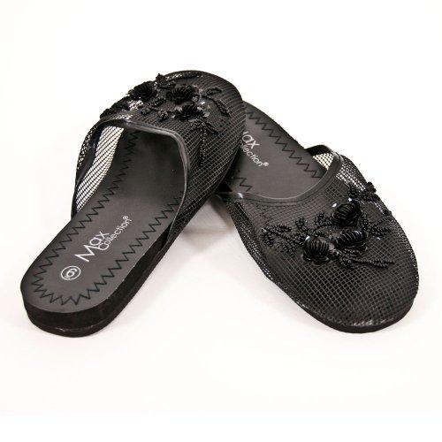 Cheap Mesh Slippers – Black (B003JNDGGK)