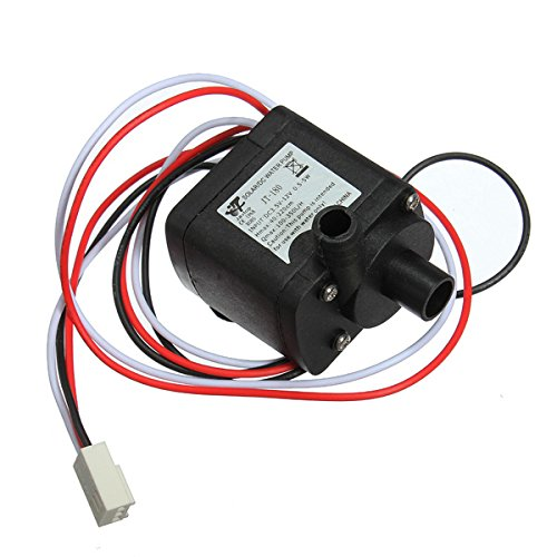 Dc 12V 6W 3Pin Connector Brushless Pump For Pc Water Cooling System