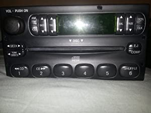 98 99 00 01 02 03 04 FORD ESCAPE F150 F250 EXPLORER CD PLAYER RADIO (MADDBUYS)