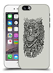 Snoogg Adivasi Face Designer Protective Back Case Cover For IPHONE 7