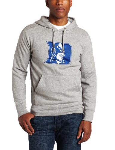 NCAA Duke Blue Devils Applique Signature Hoodie, Grey Heather, XX-Large Antigua Sweatshirts autotags B005O65QYA