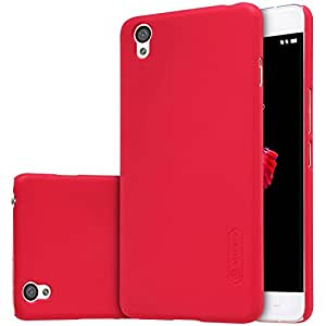 Nillkin Super Frosted Shield Back Cover Case for OnePlus X / One Plus X - Red , Free Screen guard