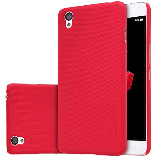 Nillkin Super Frosted Shield Back Cover Case for OnePlus X / One Plus X - Red , Free Screen guard  available at amazon for Rs.293