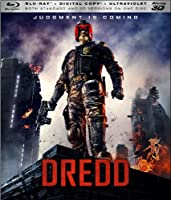 Dredd 3d Blu-ray Digital Copy Ultraviolet from Lionsgate