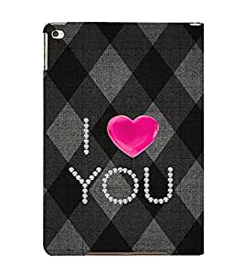 EPICCASE love blocks Mobile Back Case Cover For Apple Ipad Air 2 (Designer Case)