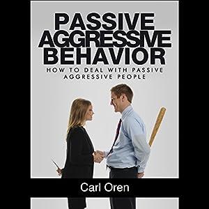 Passive Aggressive Behavior Audiobook