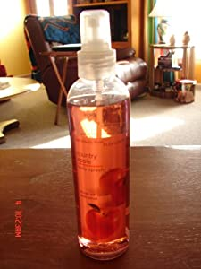 Bath & Body Works Pleasures Country Apple Body Splash 8 oz