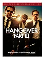 The Hangover Part III (Two-Disc Special Edition DVD+Ultraviolet) from Warner Home Video