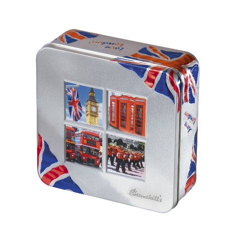 Churchill's London Windows with Fruit and Lemon Biscuits 200 g