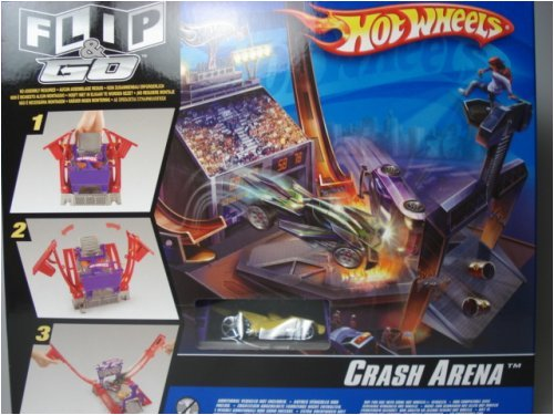 Hot Wheels Crash Arena Flip N Go Playset with Vehicle & Mini Figure, 1-2 Players - Buy Hot Wheels Crash Arena Flip N Go Playset with Vehicle & Mini Figure, 1-2 Players - Purchase Hot Wheels Crash Arena Flip N Go Playset with Vehicle & Mini Figure, 1-2 Players (Hot Wheels, Toys & Games,Categories,Play Vehicles,Vehicle Playsets)