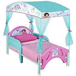 Dora the Explorer Toddler Canopy Bed