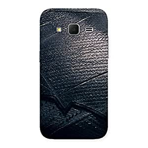 Knight Suit Black Print Back Case Cover for Galaxy Core Prime
