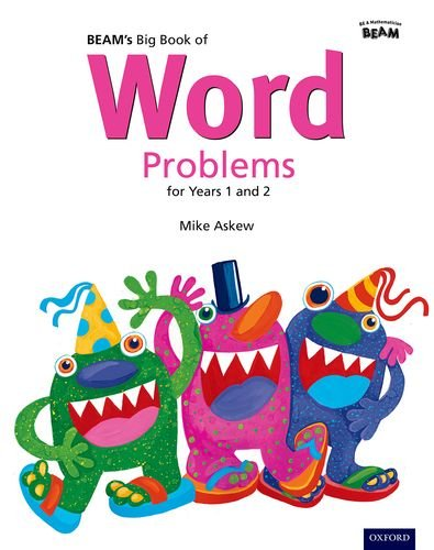 BEAM's Big Book of Word Problems Year 1 and 2 Set: Years 1 & 2