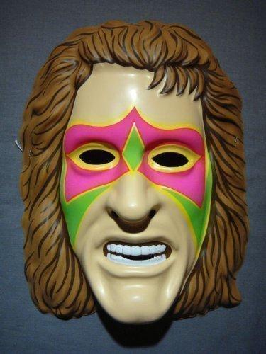 Maschera Ufficiale Wrestling Ultimate Warrior per Adulti e Bambini
