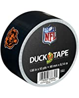 Duck Brand 281531 Chicago Bears NFL Team Logo Duct Tape, 1.88-Inch by 10 Yards, Single Roll