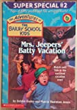 Mrs. Jeepers' Batty Vacation (Super Special, No.22)