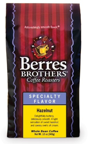 Berres Brothers Hazelnut Cream Whole Bean Coffee 12 Oz.