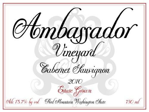 2010 Ambassador Vineyard Estate Cabernet Sauvignon, Red Mountain 750 Ml