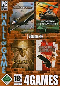 Hall of Game, Vol. 12: Air Conflicts / Enemy Engaged: Comanche vs. Hokum / Daemonica / Ragdoll Kung Fu