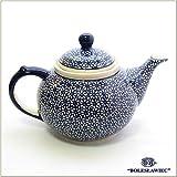 [Boleslawiec/ボレスワヴィエツ陶器]ティーポット(1.25L)-120