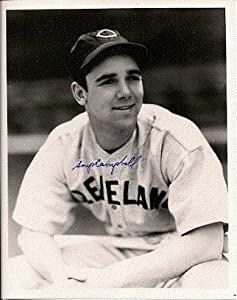Autographed Hand Signed 8x10 Photo Soup Campbell Cleveland Indians by Hall of Fame Memorabilia