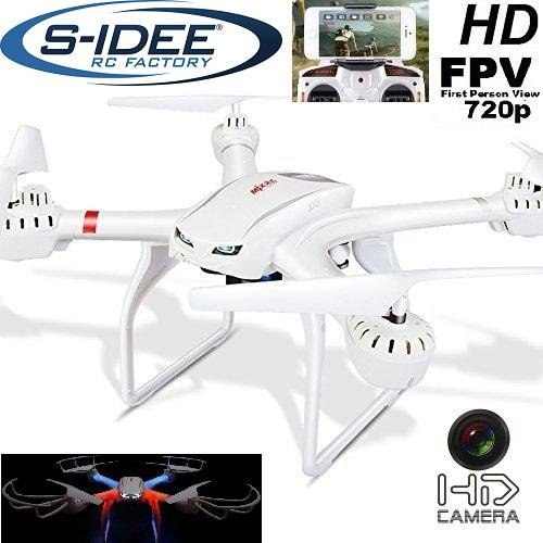 s-idee-01516-Quadrocopter-X101-Wifi-HD-Kamera-mit-Tonaufzeichnung-MJX-X101-One-Key-Return-Coming-Headless-Mod-360-Flip-Funktion-24-GHz-4-Kanal-6-AXIS-Stabilization-System