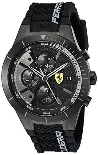 Ferrari De los hombres Analógico Dress Cuarzo Reloj NWT 0830262