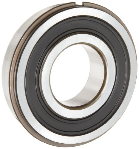 Skf 6306 2Rsnrjem Medium Series Deep Groove Ball Bearing, Deep Groove Design, Abec 1 Precision, Double Sealed, Snap Ring, Contact, Steel Cage, C3 Clearance, 30Mm Bore, 72Mm Od, 19Mm Width, 3600Lbf Static Load Capacity, 6320Lbf Dynamic Load Capacity