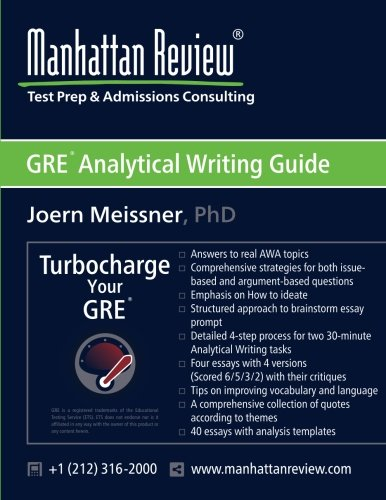analytical writing section gre