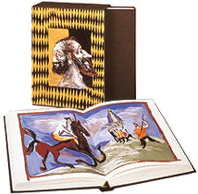 Don Quichotte de Cervantès illustré par Gérard Garouste
