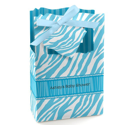 Zebra Baby Shower Favors front-734906