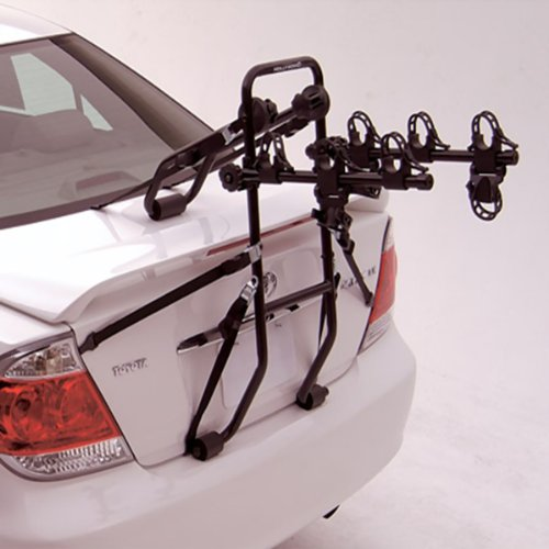 Hollywood F6 Expedition Deluxe 3 Bicycle Trunk Rack - F6-3