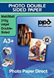 A3+ Over Sized Photo Paper Double Sided Matt 210g X 50 sheets