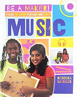 Book Cover: Maker Projects for Kids Who Love Music
