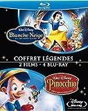 echange, troc Blanche Neige et les sept nains + Pinocchio [Blu-ray]